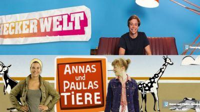 """""""Checkerwelt"""" und """"Annas und Paulas Tiere"""" auf YouTube"""