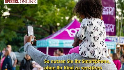 Eltern am Handy: So nutzen Sie ihr Smartphone, ohne ihr Kind zu verstören